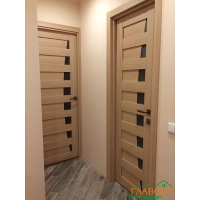 Межкомнатные двери – исходные материалы и декор